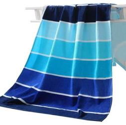 100 percent cotton beach towel pool towel