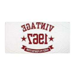 CafePress 1967 Vintage Aged To Perfection Beach Towel