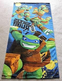 "2020 TEENAGE MUTANT NINJA TURTLES ""TURTLES RULE"" BEACH TOWEL"