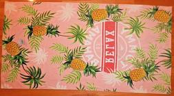 "TOMMY BAHAMA 35x66"" 100% COTTON BEACH TOWEL RELAX PINEAPPLES"