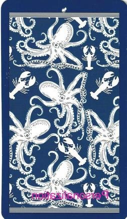 40 x 72 Vintage Octopus & Lobster Oversized Beach Pool Towel