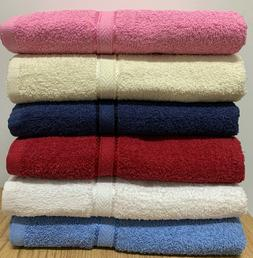 Springfield Linen 6-Pack Bath Towels - Extra-Absorbent - 100