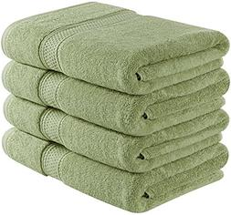 Utopia Towels 700 GSM Premium Bath Towels Set - Pack of 4 -