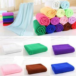 70x140cm Microfiber Beach Bath Towels Absorbent Drying Washc