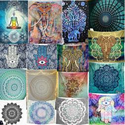 75 Tapestry Hippie Bedspread Wall Hanging Beach Towel Indian