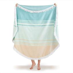 Oversize Plush Cabana Towel by Laguna Beach Textile Co | Nav