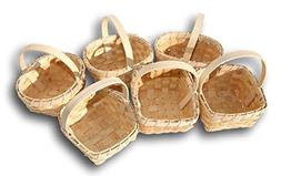 Small Woodchip Country Basket - Set of 6 Styles