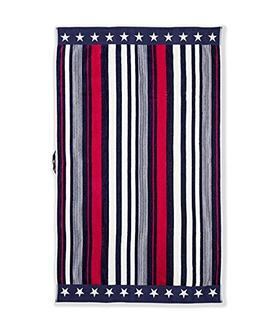 U.S. Polo Assn. Large  Striped Multicolored Design Beach Tow