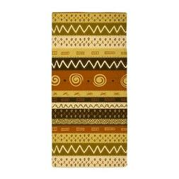 CafePress African Ethnic Pattern Beach Towel