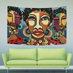 WIHVE Tapestry African Art Wall Hanging Art Home Decor Polye