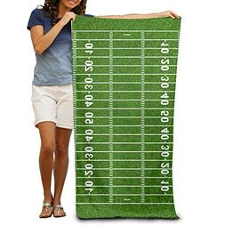 American Football Field 100% Polyester Beach Towel Chair  Th