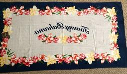 Authentic 100% Cotton Tommy Bahama Beach Spa Pool Towel Icon