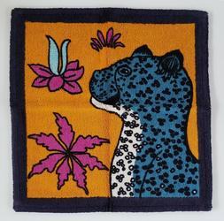AUTHENTIC HERMES LEOPARDS SQUARE BEACH TOWEL  - BRAND NEW