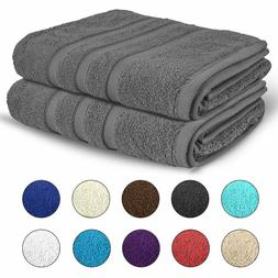 BATH SHEET TOWELS 100% Egyptian Cotton 2 Pack Extra Large So