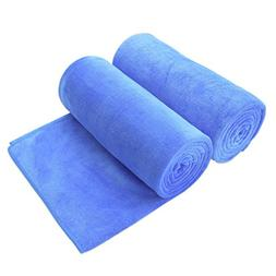JML Bath Towel, Microfiber 2 Pack Towel Sets  - Extra Absorb
