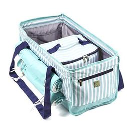 Beach Bag Tote Set with Removable Insulated Cooler and Two M