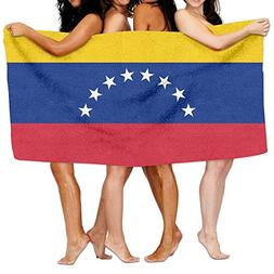 "Beach Towel Flag Of Venezuela 80"" X 130"" Soft Lightweight Ab"
