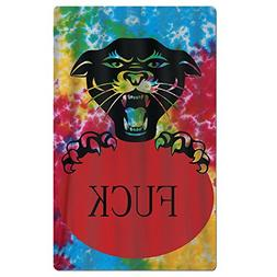 SARA NELL Adults Beach Towel Black Panther Tie-die Quick Dry