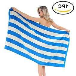 FILWO Beach Towel Large Cotton Bath Towels Oversized Clearan