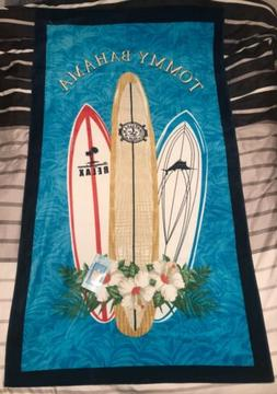 Tommy Bahama Beach Towel Large 40 in X 70 in 100% Cotton Sur