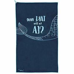 Beach Towel - Oversized Microfiber Large Mermaid XL Towels A