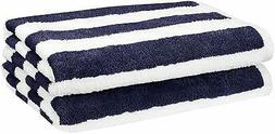 AmazonBasics Beach Towel , Pack of 2 Measures 30 by 60 inche