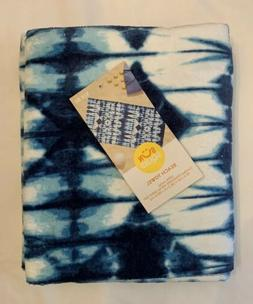 Beach Towel Shibori, Pool Fun - Sun Squad - Blue Pattern - N