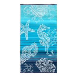 Better Homes & Gardens Oversized Beach Towel, Peacock Print