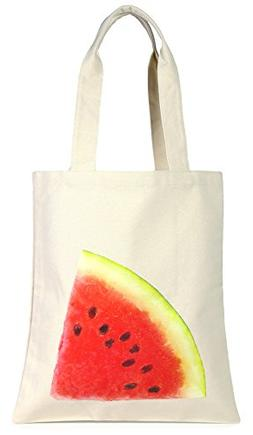 BG-705-122 Womens Tote Printed Canvas Resuable Grocery Beach