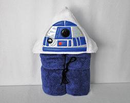 Blue Droid Hooded Bath Towel - Baby, Child, Tween