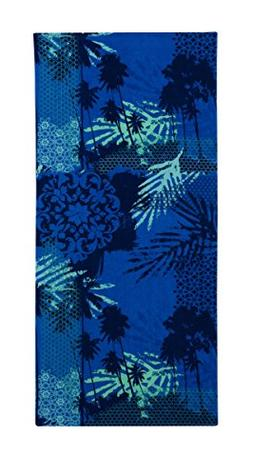 Mainstay  Blue Palm Beach Towel, 28 X 60