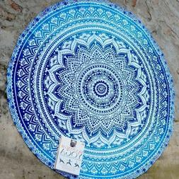 Boho Hippie Round Towel Indian Tapestry Beach Throw Blanket
