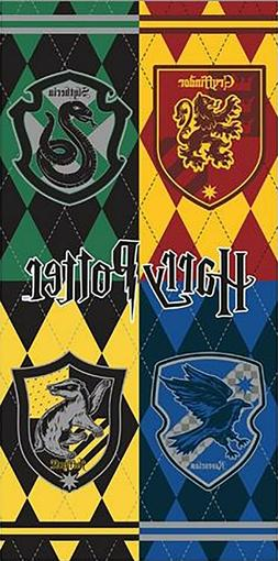 Boys Harry Potter Hogwarts Crest Bath and Beach Towel 58x28