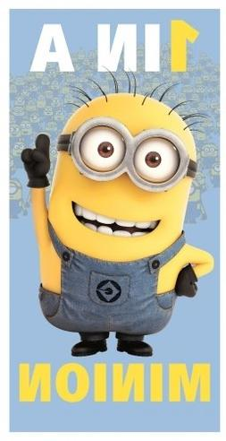 Character Despicable ME 'One In A Minion' Printed 100% Cotto
