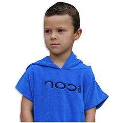 COR - Kids Towel Robe - Dark Blue - Changing Towel - for the