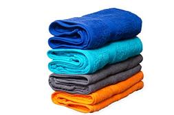 Comfy Bath Towels 4 in a Pack Cotton Bath / Beach Towels 100