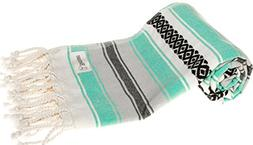 Bersuse 100% Cotton - San Jose Turkish Towel - Bath Beach Fo