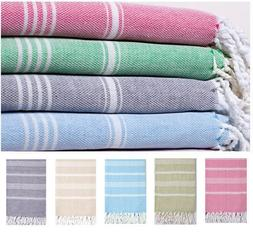 Cotton Fouta Turkish Towel Beach Bath Towel Hammam Pestemal