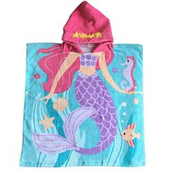 Child 100% Cotton Hooded Towel 24 x 48 inches