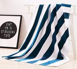 Exclusivo Mezcla 100% Cotton Oversized Large Beach Towel,Poo