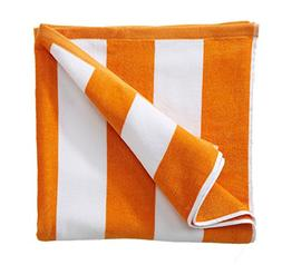 cotton plush cabana stripe velour