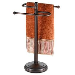Curved Hand Towel Tree in Oil Rubbed Bronze 1