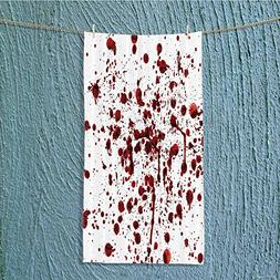Custom Cotton Microfiber Ultra Soft Towels/Hand Towel,Bloody
