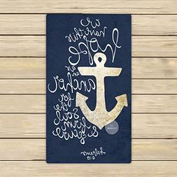 Custom We Have This Hope As an Anchor for the Soul Hebrew 6: