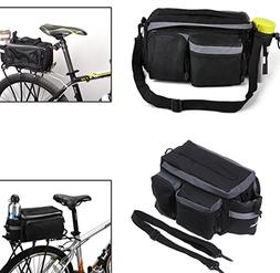 Cycling Bike Bicycle Rear Tail Seat Pannier Bag Pouch Rack T