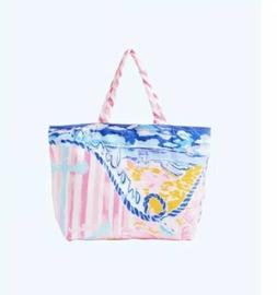 Lilly Pulitzer Destination Tote Beach Towel Bag Avalon Large