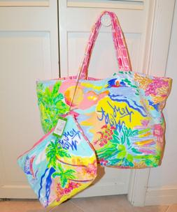 Lilly Pulitzer Destination Tote KEY WEST-Shop- Beach Towel T