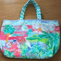 Lilly Pulitzer Destination Tote KIAWAH Beach Towel Terry Clo