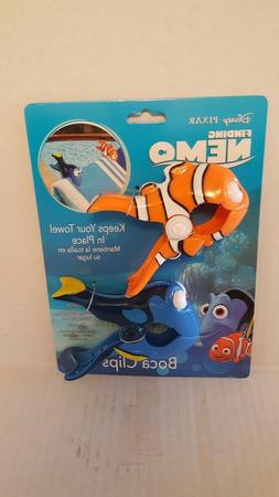 BOCA Clips Disney FINDING NEMO DORY Beach Towel Holder Pool