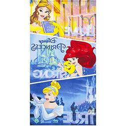 Disney Princess Large Beach Towel For Girls 100% Polyester M